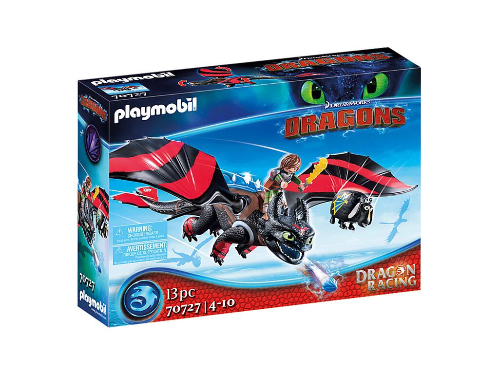 Playmobil Dragón Racing Hipo y Desdentao 70727