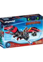 Playmobil Dragão Racing Soluço e Banguela 70727