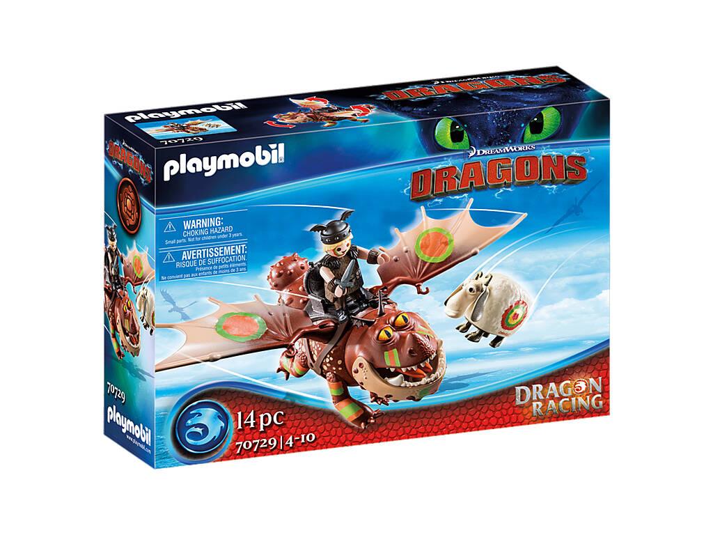 Playmobil Dragón Racing Barrilete y Capataz 70729