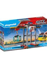 Playmobil City Action Grúa con Contenedores 70770