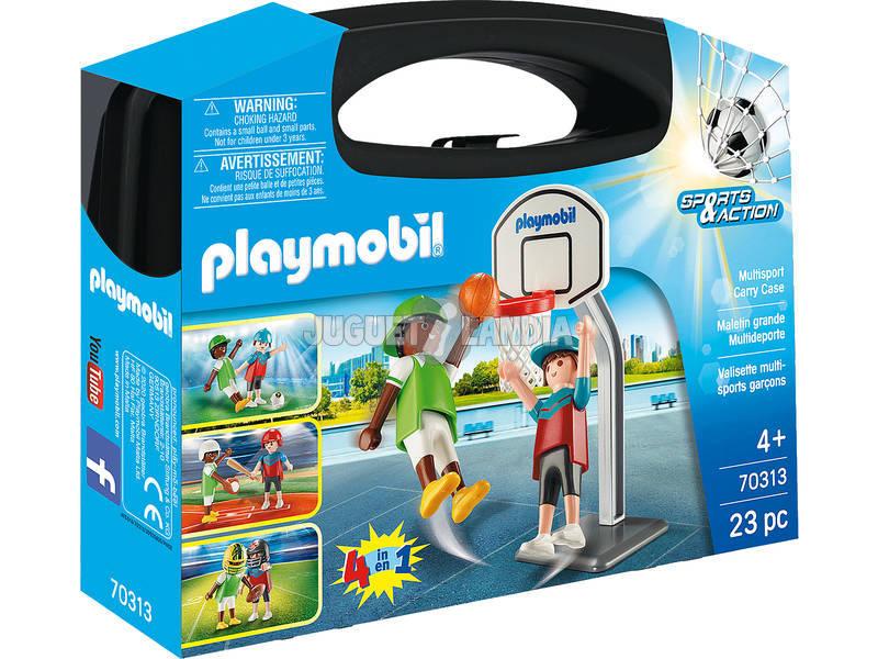 Playmobil Maletin Grande Multideporte 70313