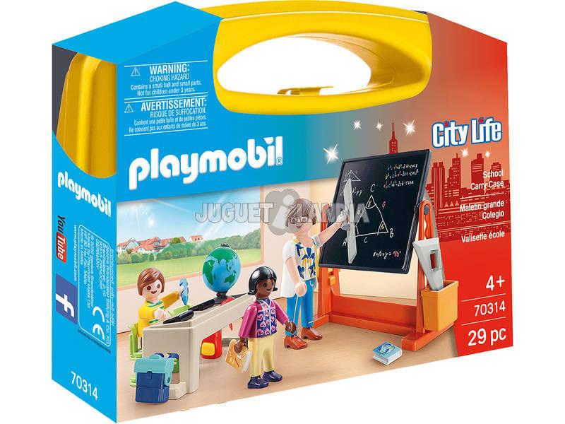 Playmobil Maletin Grande Colegio 70314