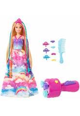 Barbie Princesa Zopfen Mattel GTG00