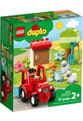 Lego Duplo Town Le Tracteur et Les Animaux 10950