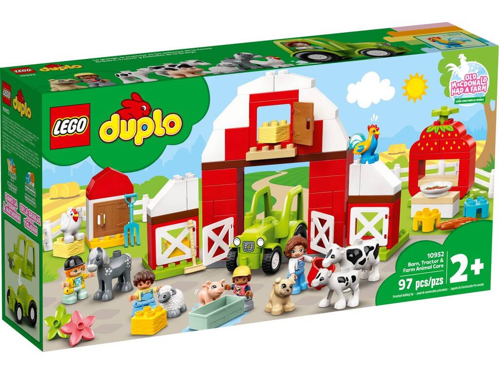 Lego Duplo Town Granero, Tractor y Animales de la Granja 10952