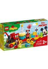 Lego Duplo Disney Treno del Compleanno di Mickey e Minnie LEGO 10941