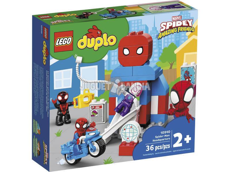 Lego Duplo Marvel Heroes Cuartel General de Spiderman 10940