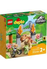 Lego Duplo Jurassic World Flucht des T-Rexs und des Triceratops 10939