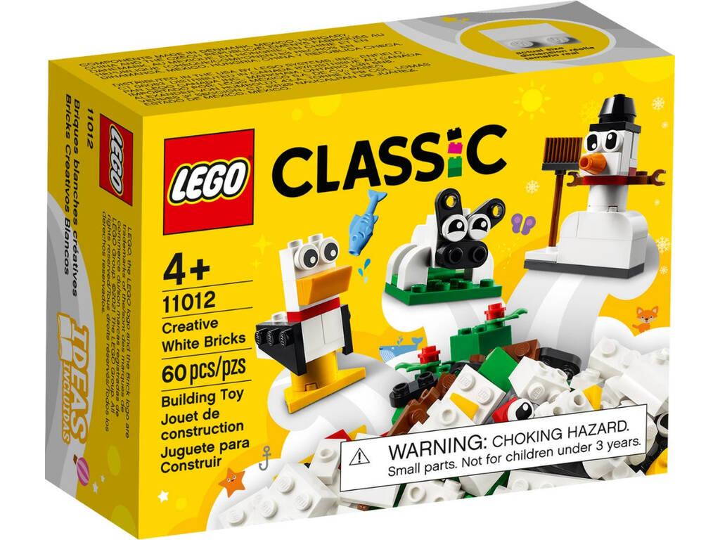 Lego Classic Ladrillos Creativos Blancos 11012