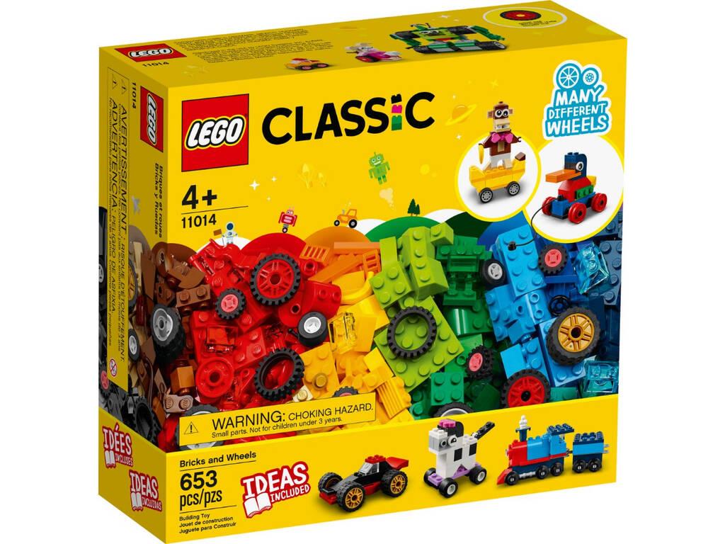 Lego Classic Ladrillos y Ruedas 11014