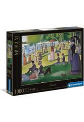 Puzzle 1000 Seurat: Una Tarde De Domingo En La Isla De La Grande Jatte Clementoni 39613