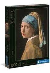 Puzzle 1000 Vermeer: La Chica De La Perla Clementoni 39614
