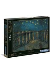 Puzzle 1000 Van Gogh: Noche Estrellada Rodano Clementoni Iberica 39344