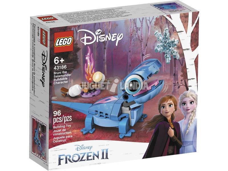 Lego Disney Princess Bruni la Salamandre, Personnage à Construire 43186