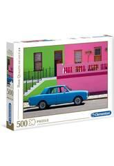 Puzzle 500 Coche Azul Clementoni 35076