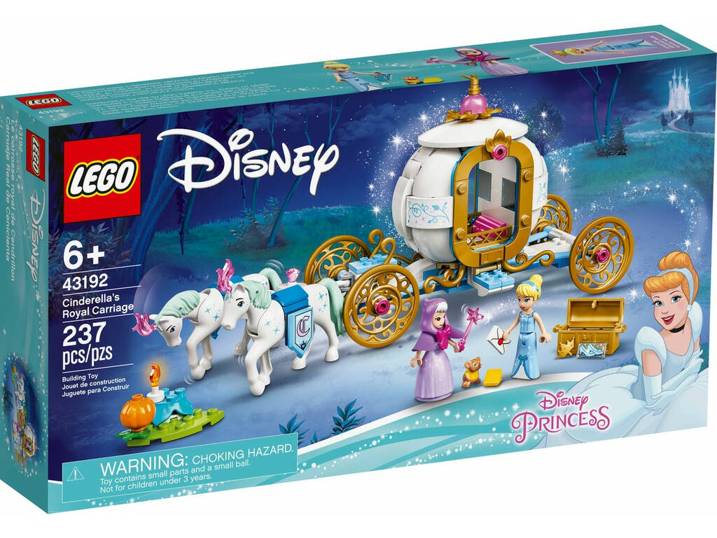 LEGO DISNEY Princess Carruaje Real de Cenicienta 43192