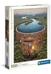 Puzzle 1000 Bibliodame Clementoni 39603