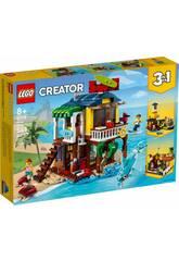 Lego Creator Casa Surfera en la Playa 31118
