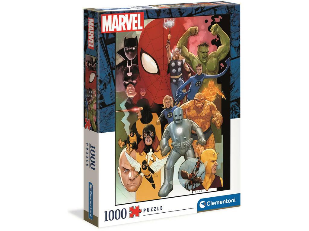 Puzzle 1000 Marvel 80 Clementoni 39612