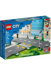 Lego City Town Intersection à assembler 60304