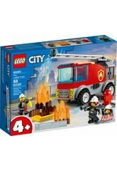 Lego City Camión de Bomberos con Escalera 60280