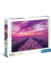 Puzzle 1.000 Campos De Lavanda Clementoni 39606
