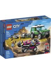 Lego City Le Transport du Buggy de Course 60288