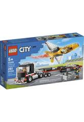 Lego City Le Transport d'avion de Voltige 60289