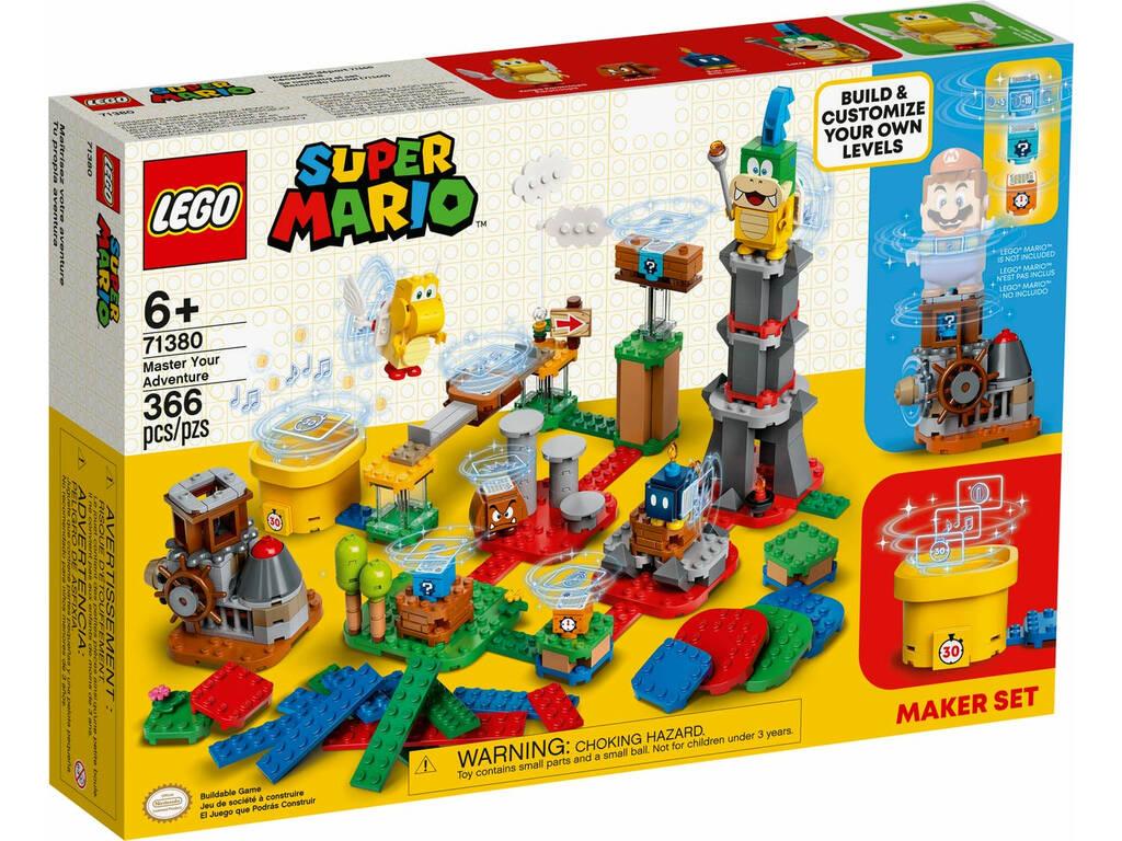 Lego Super Mario Set de Creación Tu Propia Aventura 71380