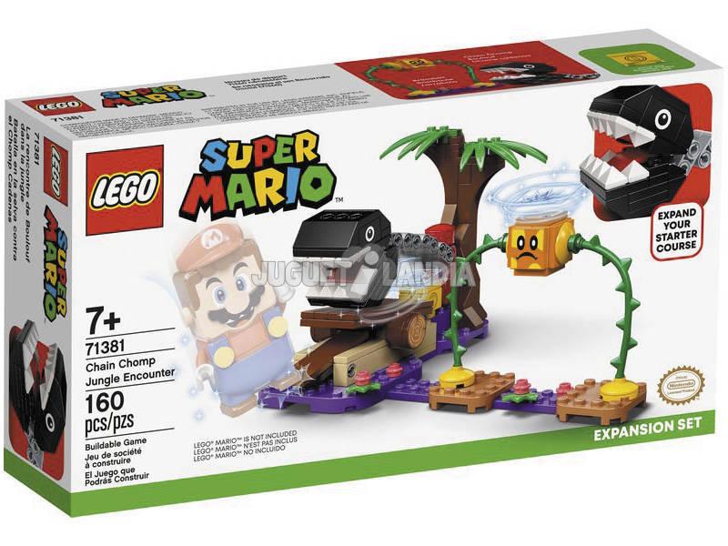 Lego Super Mario Set de Expansión Batalla en la Jungla contra El Chomp Cadenas 71381