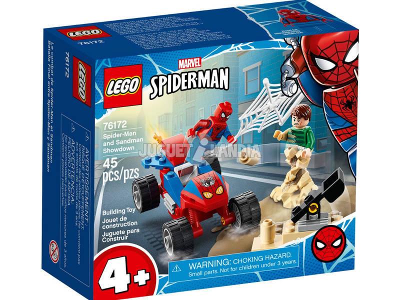 Lego Super-Héros Marvel Le Combat de Spider-Man et Sandman 76172