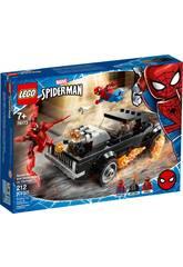 Lego Super-Héros Marvel Spider-Man et Ghost Rider contre Carnage 76173
