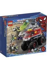 Lego Super-héros Marvel Monster Truck de Spiderman vs. Mysterio 76174