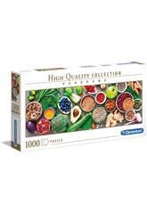 Puzzle 1000 Verduras Saludables Clementoni 39518