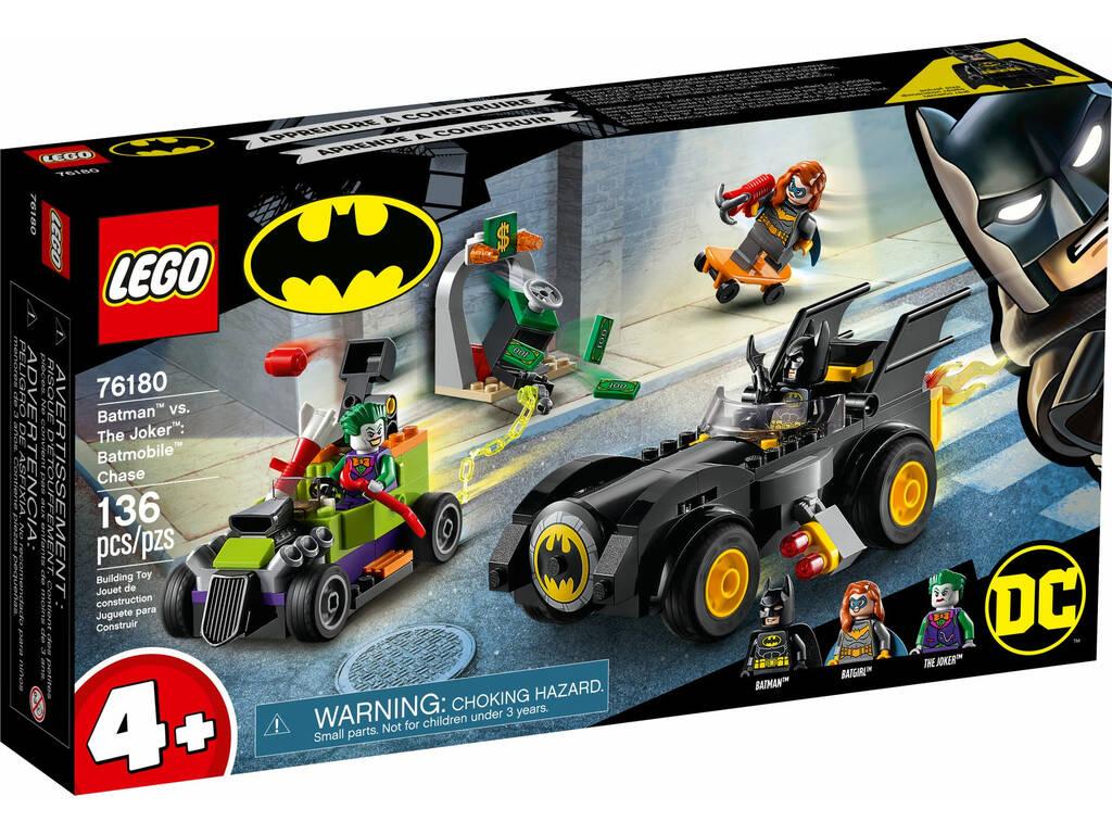 Lego Batman Vs The Joker Persecución en el Batmobile 76180