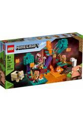 Lego Minecraft El Bosque Deformado 21168