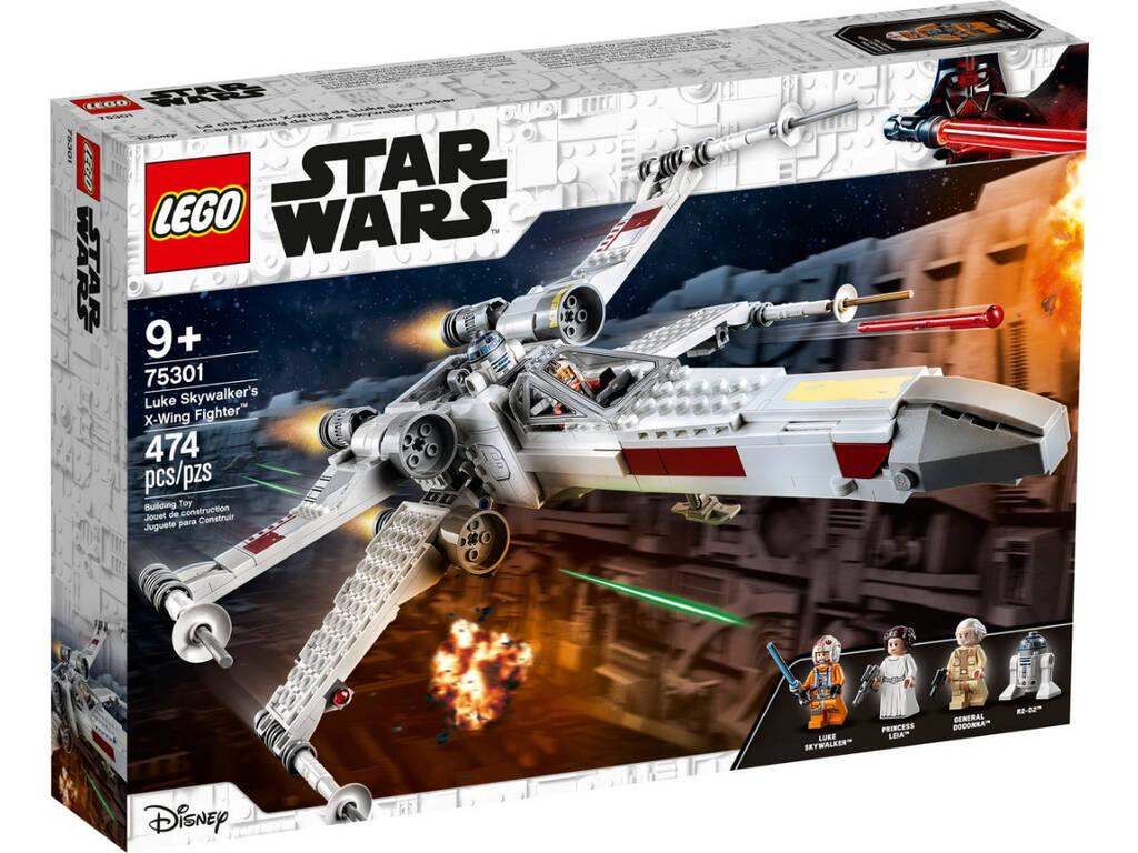 Lego Star Wars Caza Ala X de Luke Skywalker 75301