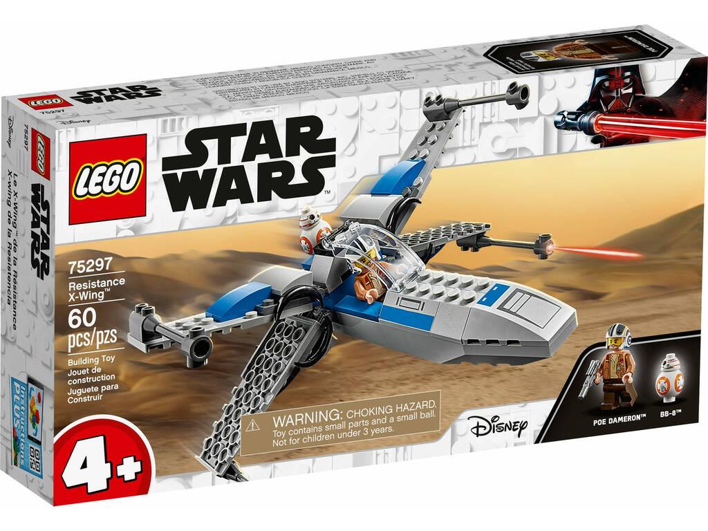 Lego Star Wars Caza Ala X de La Resistencia 75297