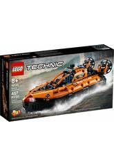 Lego Technic Aéroglisseur de Sauvetage 42120