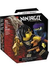 Lego Ninjago Set de Batalla Legendaria Cole vs. Guerrero Fantasma 71733