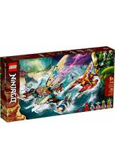 Lego Ninjago La bataille de catamarans 71748