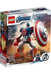 Lego Súper Héroes Avengers Armadura Robótica del Capitán América 76168