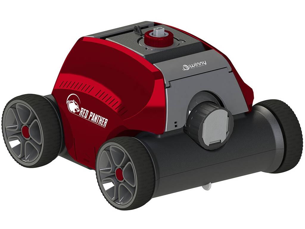 Robot Limpiafondos para Piscina Red Panther Poolstar RO-PANTHER1