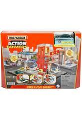 Matchbox Action Drivers Park & Play Garage Mattel HBL60