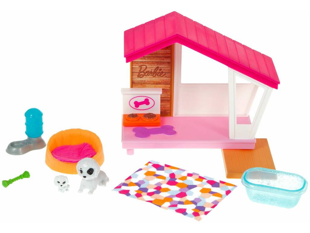 Barbie Mobiliario Exterior Casa Mascota Mattel GRG78