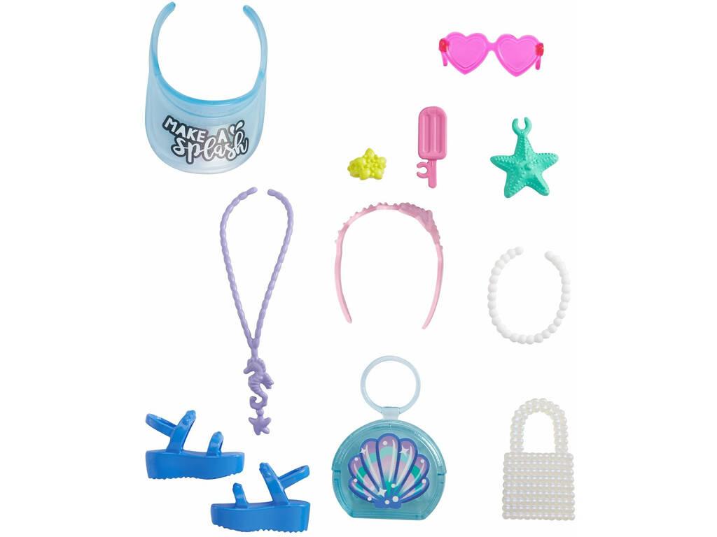 Barbie Modas Accesorios Playa Mattel GRC13