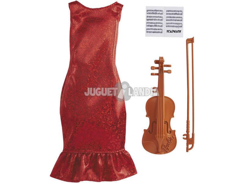 Barbie Ropa Profesiones Violinista Mattel GRC53