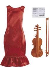 Barbie Carrière Mode Set Musicienne Violoniste Mattel GRC53