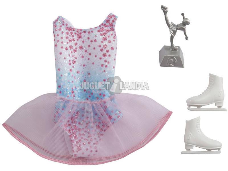 Barbie Carrière Mode Tenue Patineuse Mattel GRC56