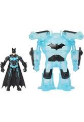 Batman Figura 10 cm. con Armadura Bat Tech Bizak 6192 7829